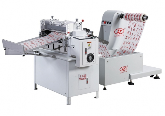Wydrukowany papier Offline Roll to Sheet Cutter Machine